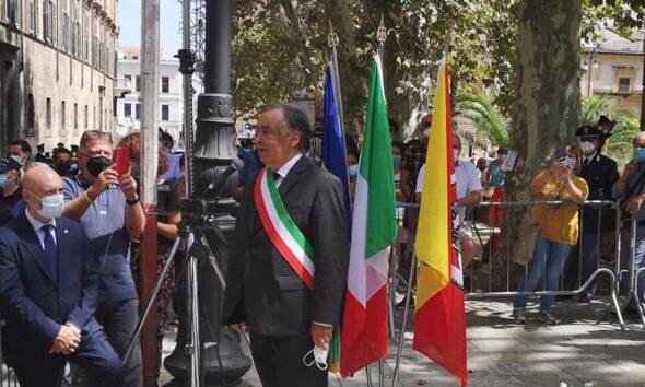 Leoluca Orlando sindaco di Palermo indagato per falso nei bilanci comunali